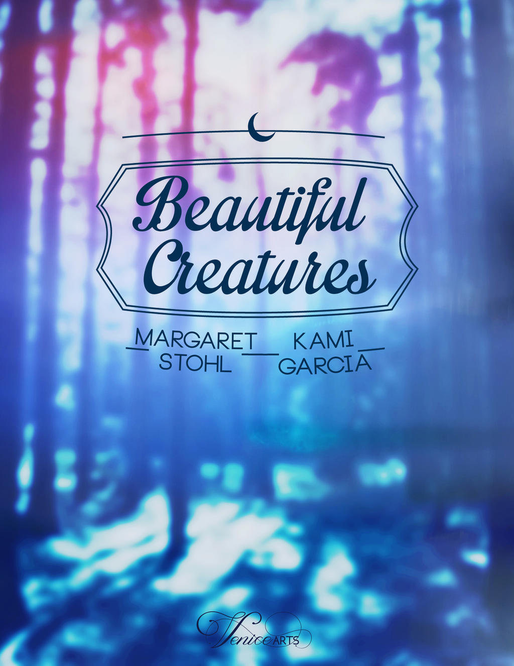 Beautiful Creatures Book Cover/Portada