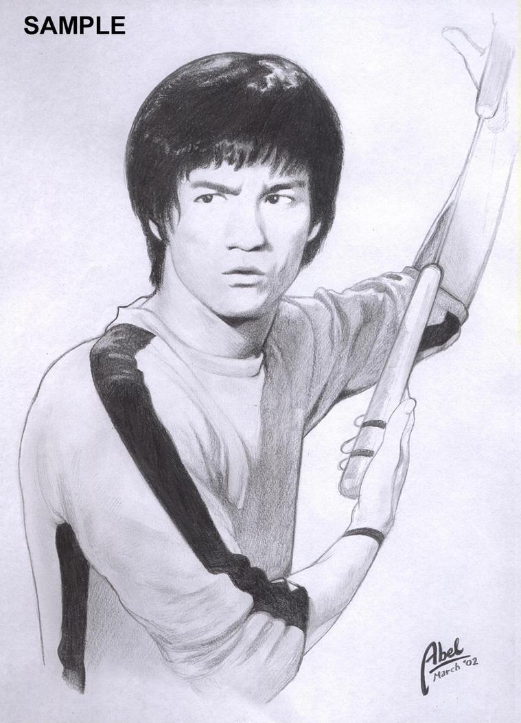 Bruce Lee by abelbrata