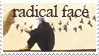 Radical Face stamp by GlassDoe
