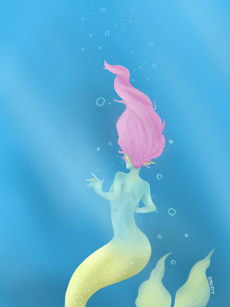Mermaid - Oct. 12, 2016 by Osulity