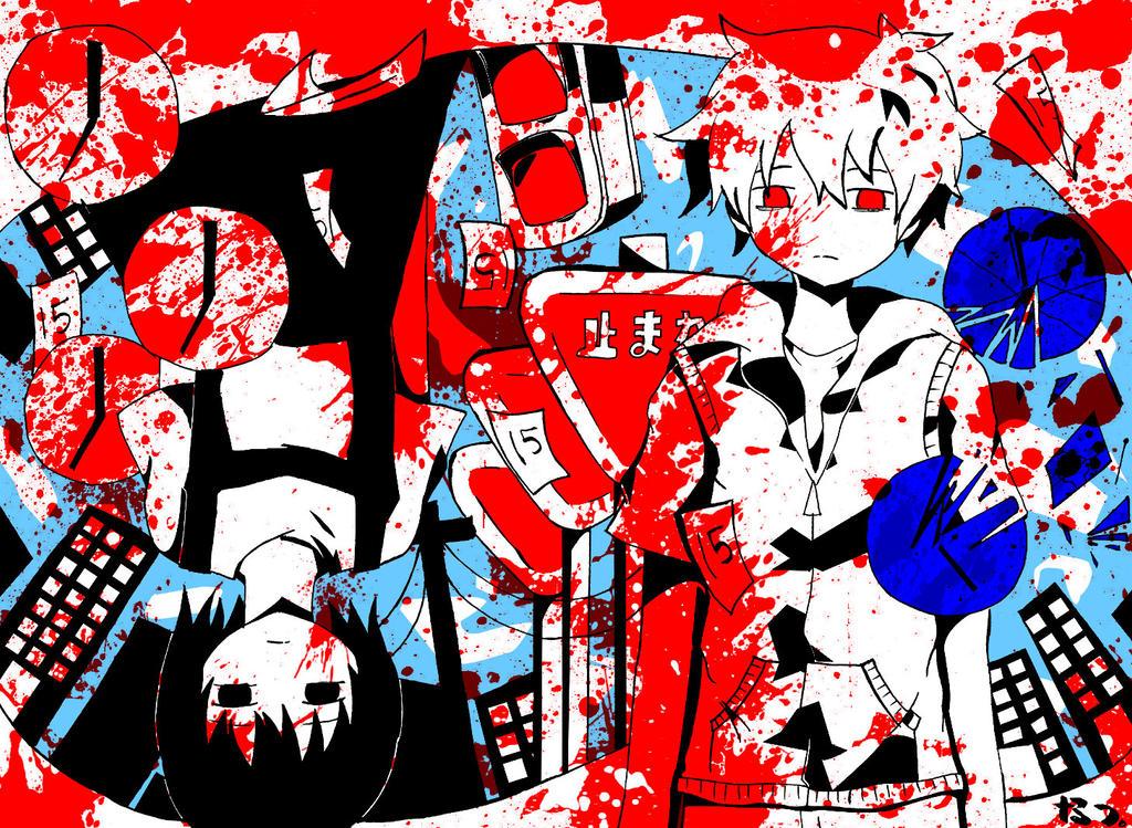 Kagerou Days Wallpaper Kagerou Days Version 2 byKagerou Days Project