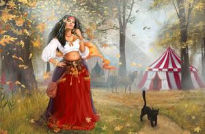 Gipsy woman by serjio-c