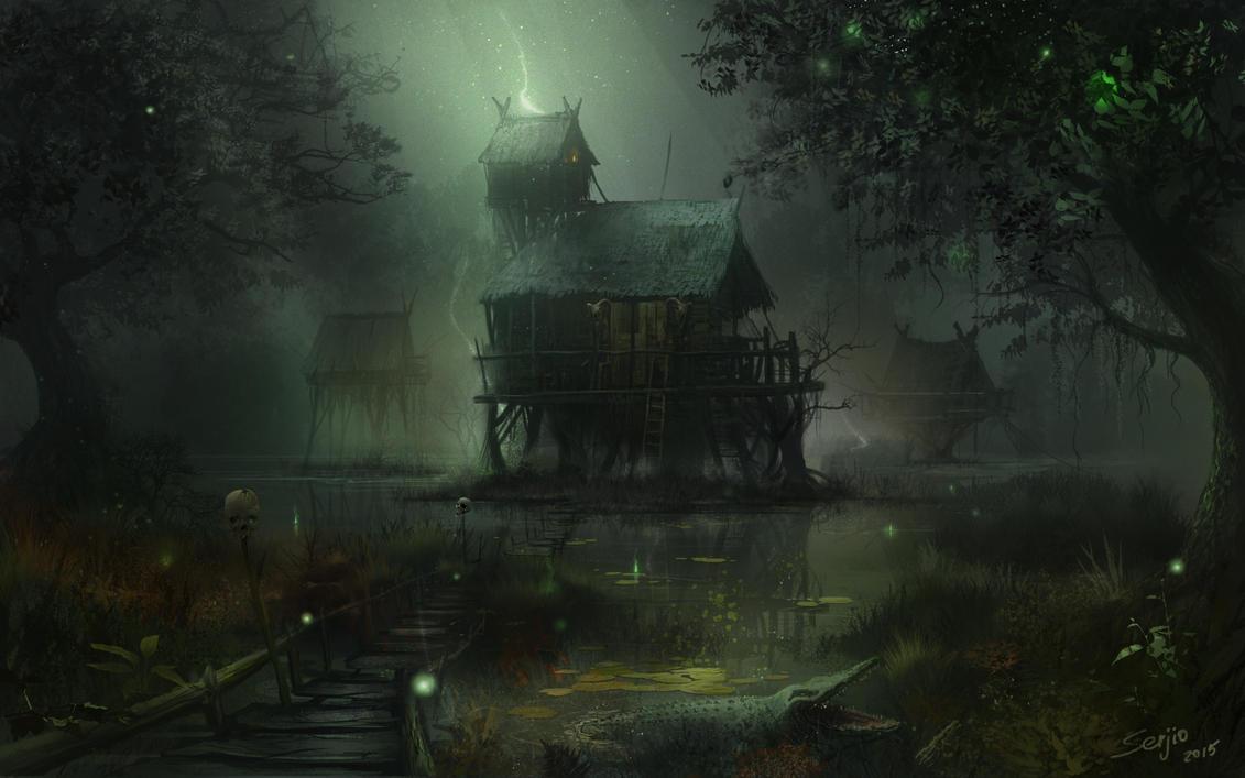 Villain's-house by serjio-c