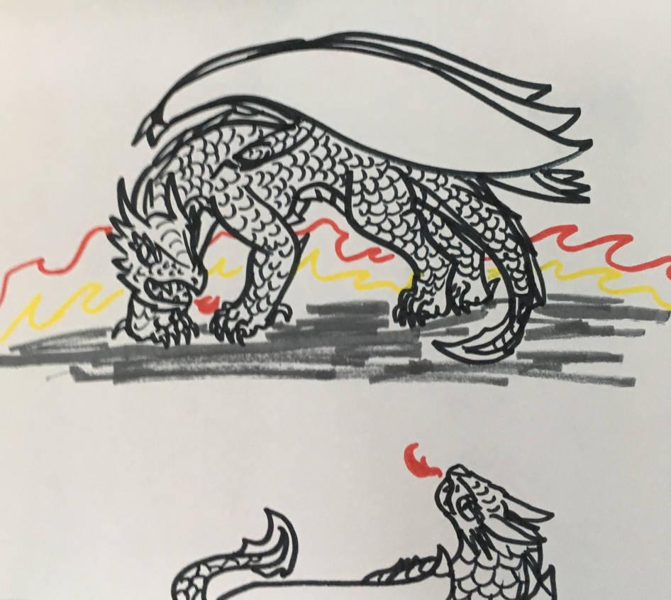 Marker Doodles by dragonitetrainer on DeviantArt