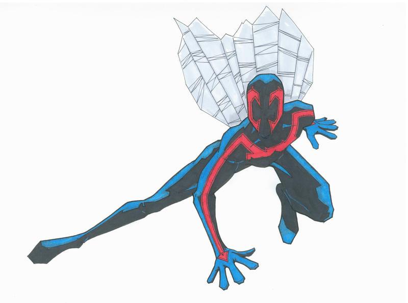 Spider Man 2099 By GordZee On DeviantArt