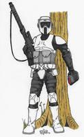 Scout Trooper by GordZee