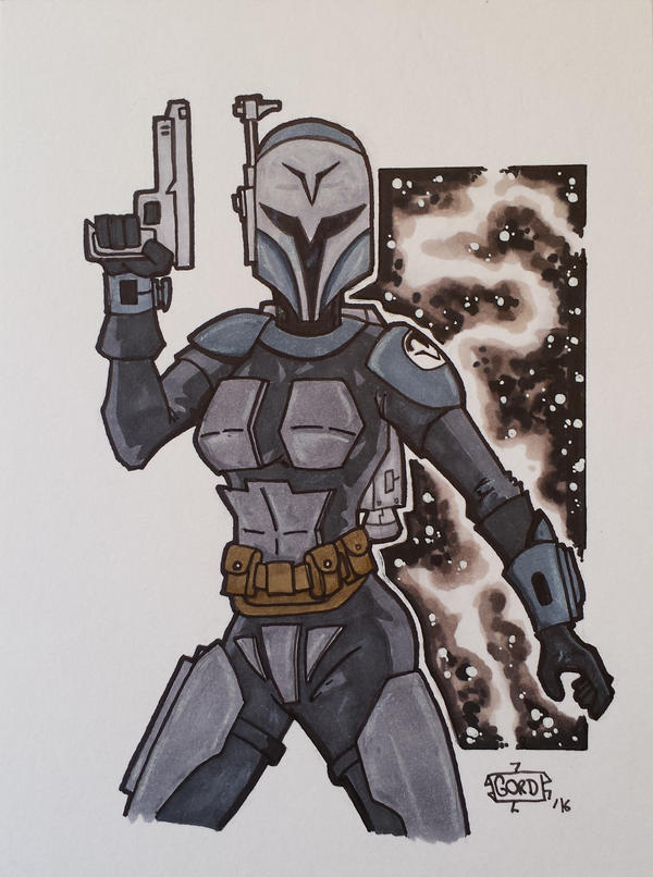 Bo Katan by GordZee