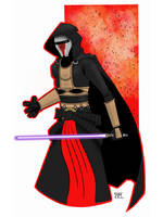 Darth Revan by GordZee