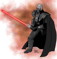 Darth Malgus by GordZee