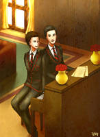 Klaine-The Wonderful Time by Yihbey