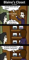 Glee-Blaine's Closet