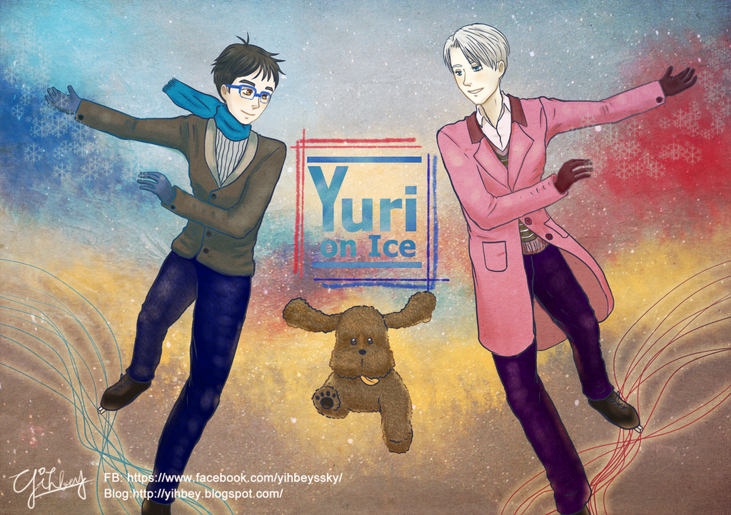 Yuri on Ice-Merry Christmas by Yihbey on DeviantArt