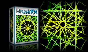 BrushFX - Tech Line Symmetry Set 1 by BrushFX