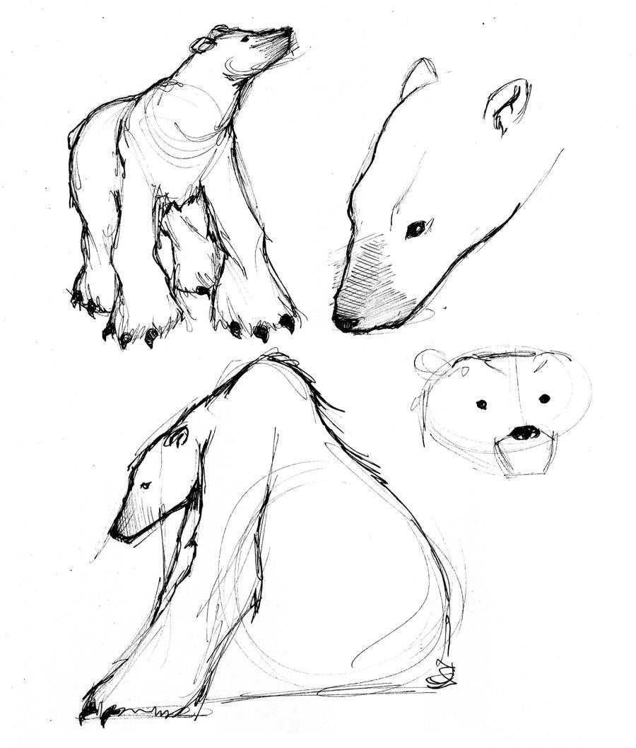 Polar Bears by JessicaDru