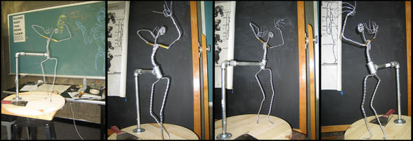 Sculpture Armature by JessicaDru