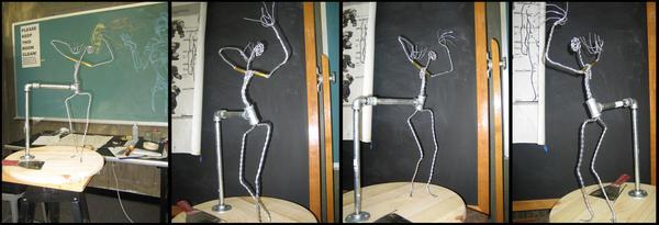 Sculpture Armature by JessicaDru