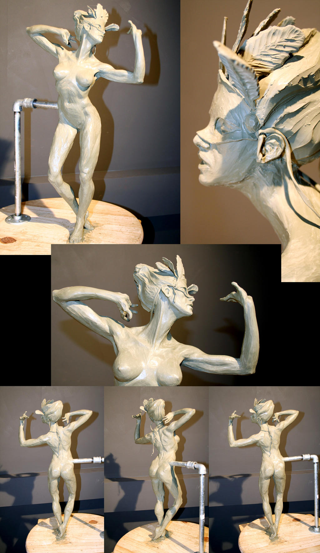 Sculpture Final by JessicaDru