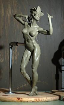 Masked Dancing Woman