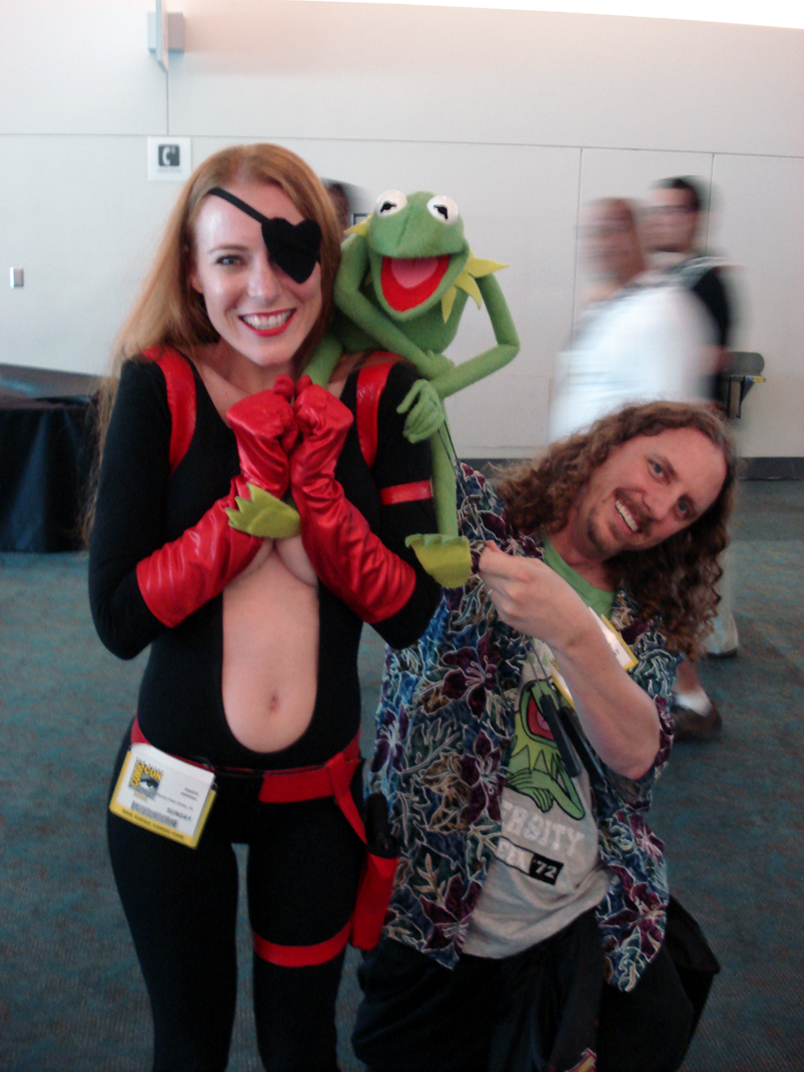 Comic-Con: Kermit by JessicaDru