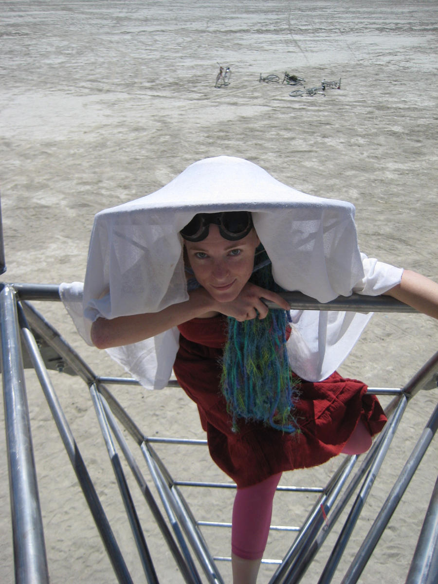 Burning Man: Sitting Up by JessicaDru