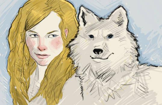 Sketch: character portrait