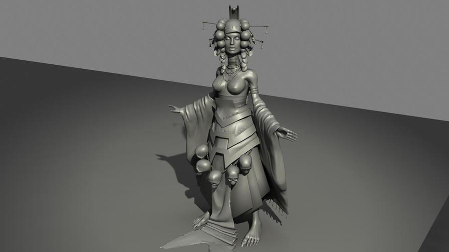 Progress: Character 2 by JessicaDru