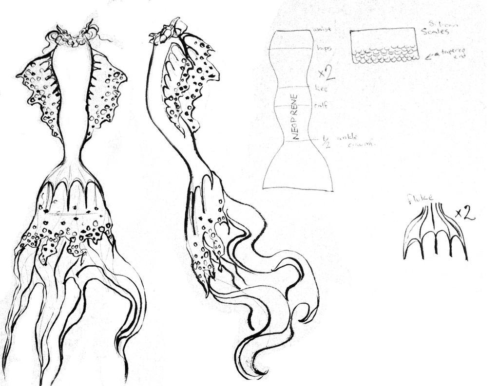 Mermaid Tail Concept By JessicaDru On DeviantArt