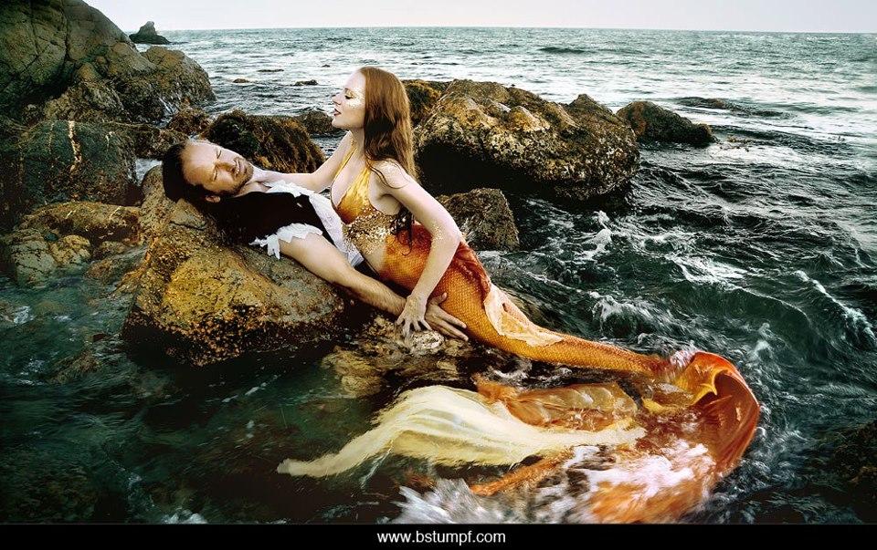 Mermaid Ashore by JessicaDru
