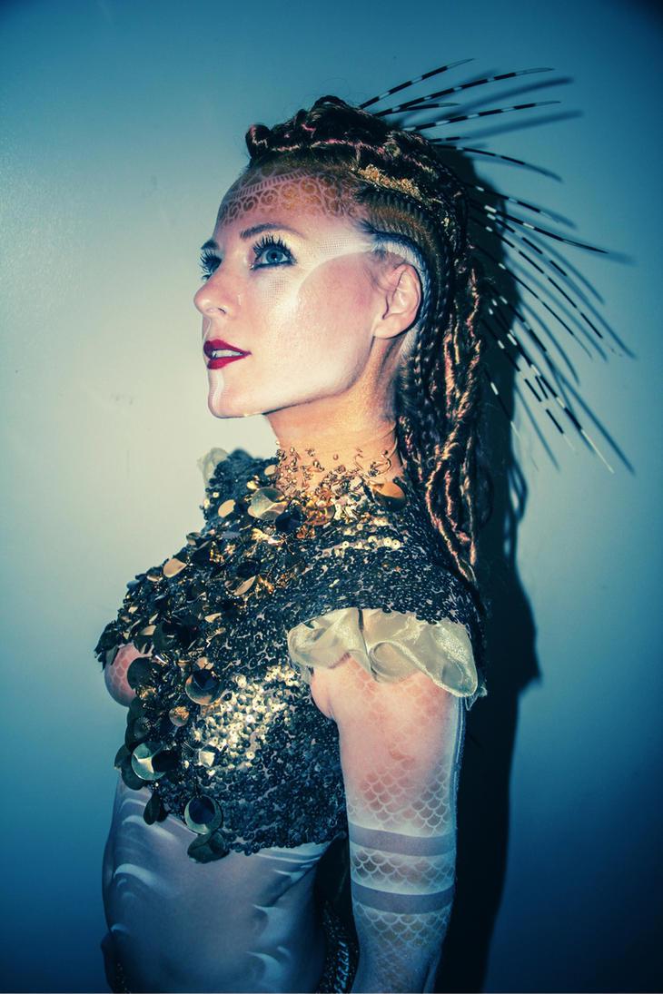 Myth Masque - Mermaid Costume by JessicaDru
