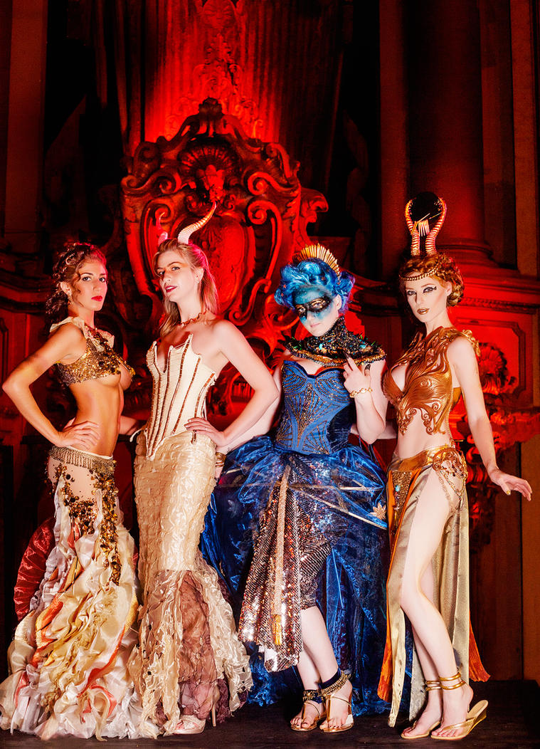 Myth Masque - Ladies by JessicaDru