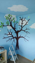 Kids room Tree WIP 1