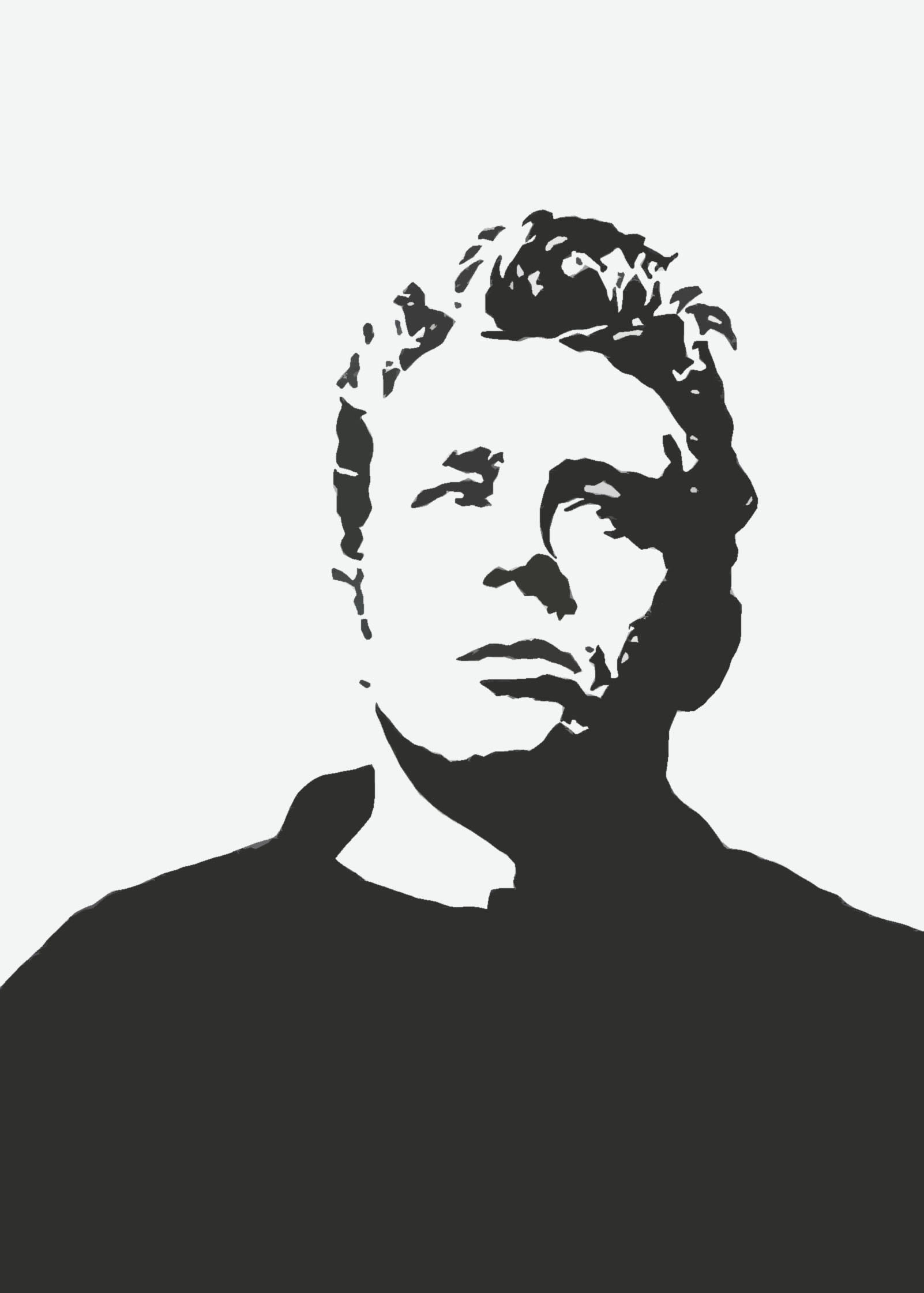 james dean black and white painting - photo #36
