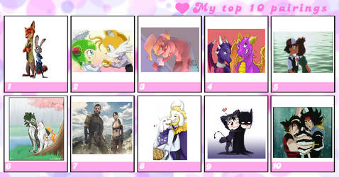 CP's Top 10 Ships by CaptainPrower