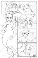 Sketch / Pencil comic test by FreakyVicky