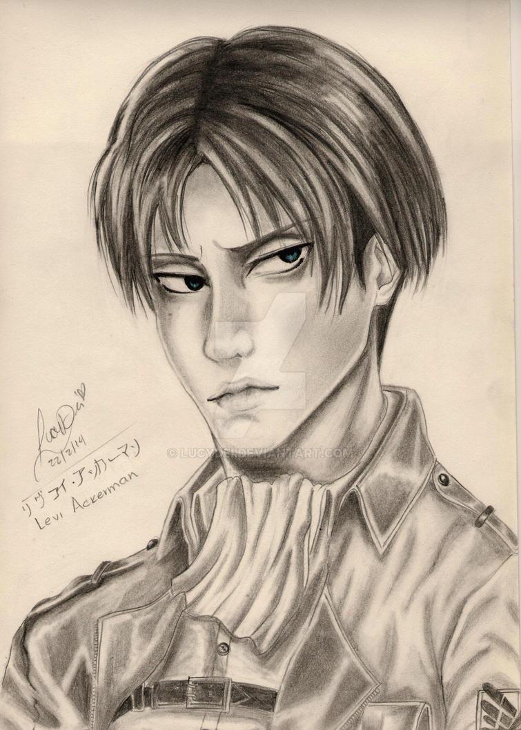 Levi - Shingeki no Kyojin by LucyDei