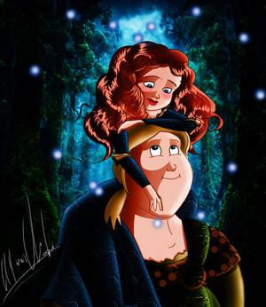 Merida And Macguffin