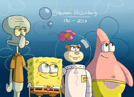 Stephen Hillenburg Tribute by Bearmations