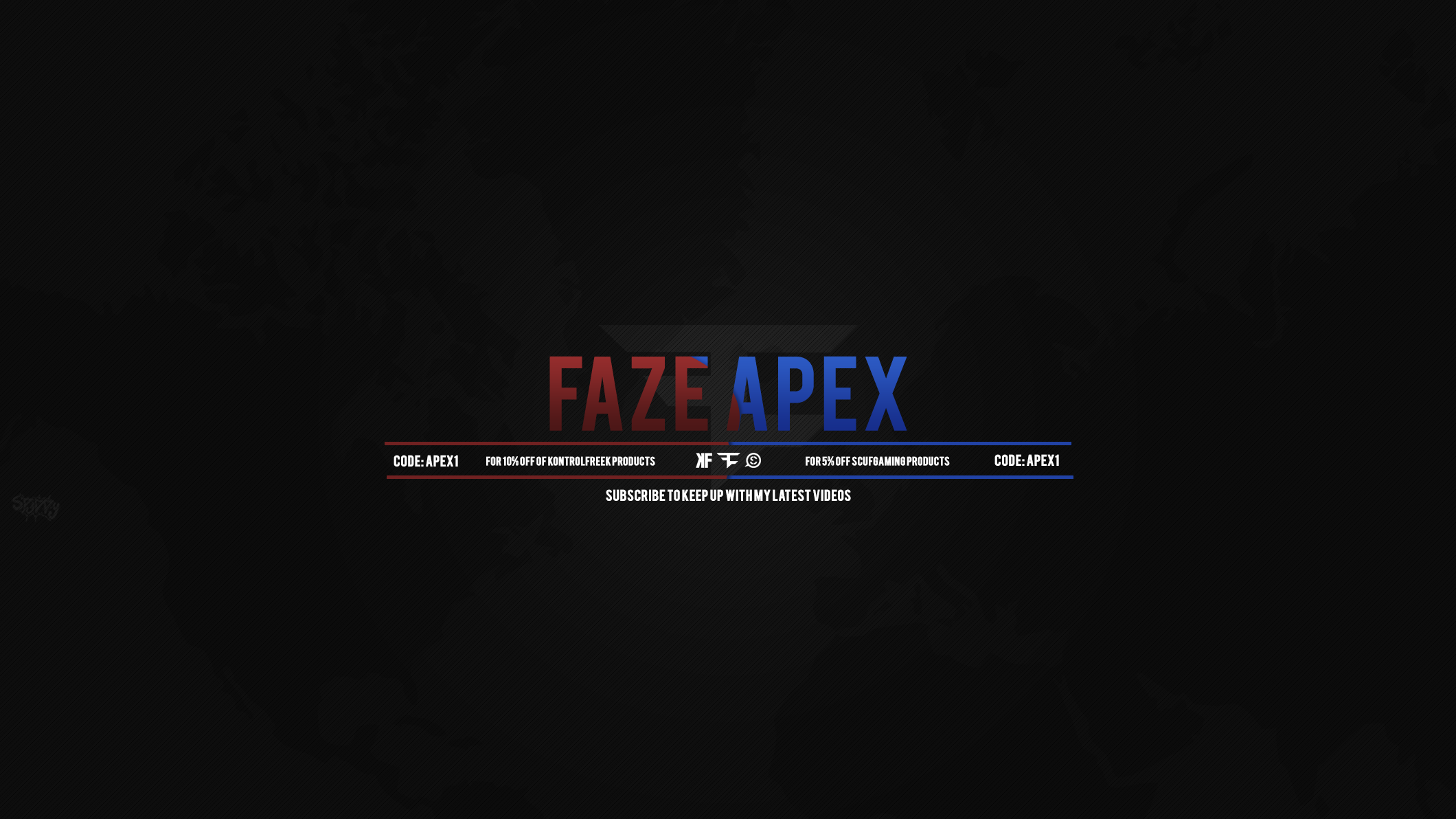 FaZe Apex YouTube Header by SilentSpud on DeviantArt