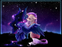 Cuddles under the stars [C] by CreativeCocoaCookie