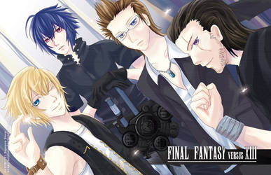 Noctis and Friends by tehlam