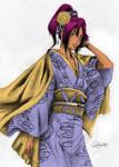 Yoruichi Shihouin with Kimono