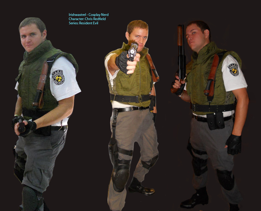 Chris Redfield Cosplay By Irishwastrel On Deviantart