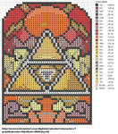 Triforce Stained Glass