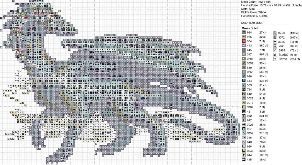 Christmas Gray Wispy Dragon by carand88