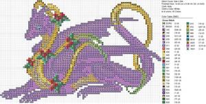 Christmas Purple Dragon