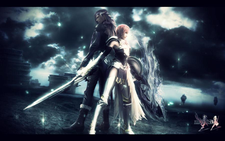 Final Fantasy 13 2 Wallpaper: Final Fantasy XIII-2 Wallpaper By FifthStitch On DeviantArt