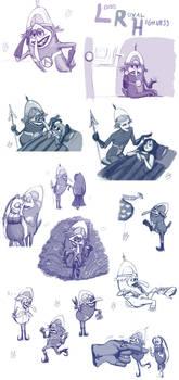 Sketchdump - LRH