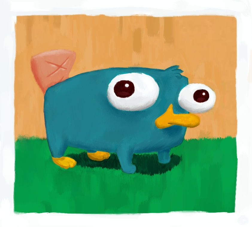 Baby perry the platypus by samwillan on deviantart