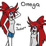 Omega casual by KatComic18