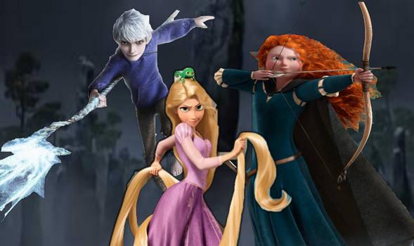 BA Cgi characters